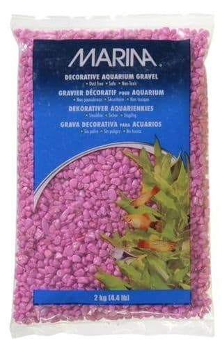 Marina Decorative Aquarium Gravel Pink 2kg